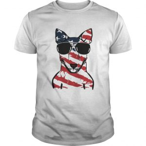 4th Of July Bull Terrier American Flag Shirt