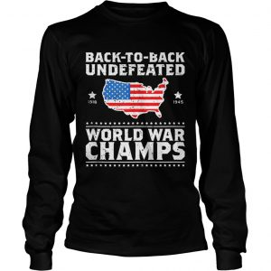 72a6d6390 The product is already in the wishlist! Browse Wishlist · Back To Back  Undefeated World War Champs American Flag shirt