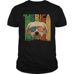4th Of July Gifts Patriotic Maltese merica shirt