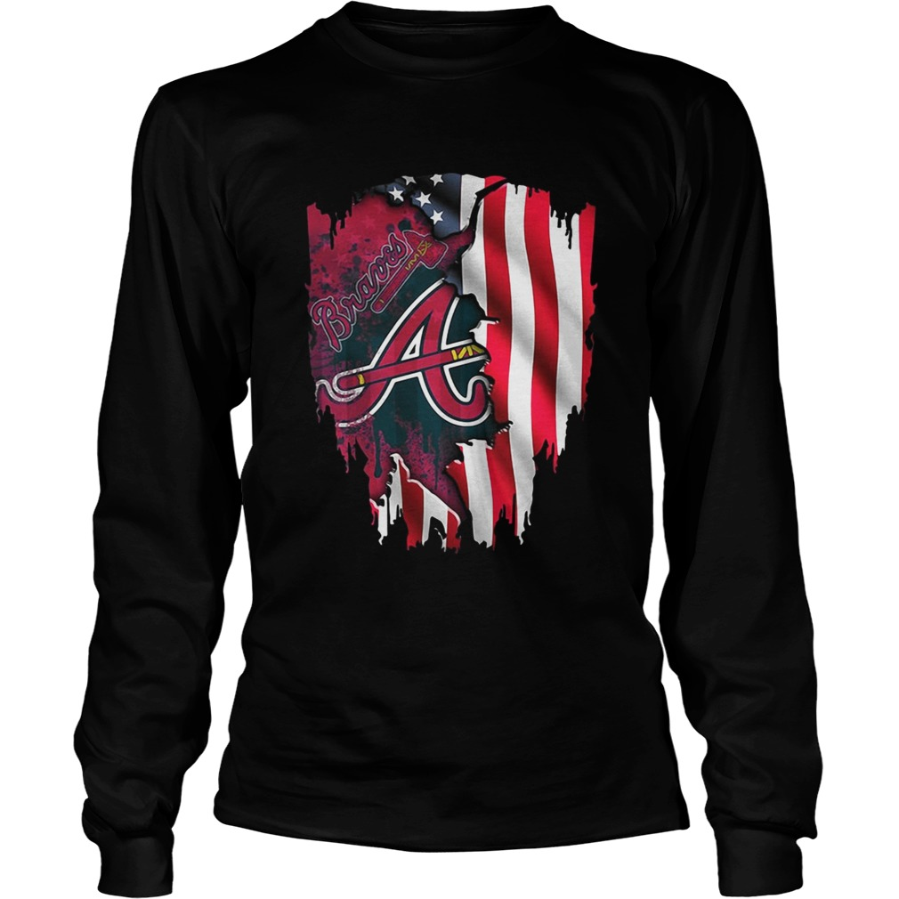 new styles 8c90d b7207 Atlanta Braves America Flag shirt