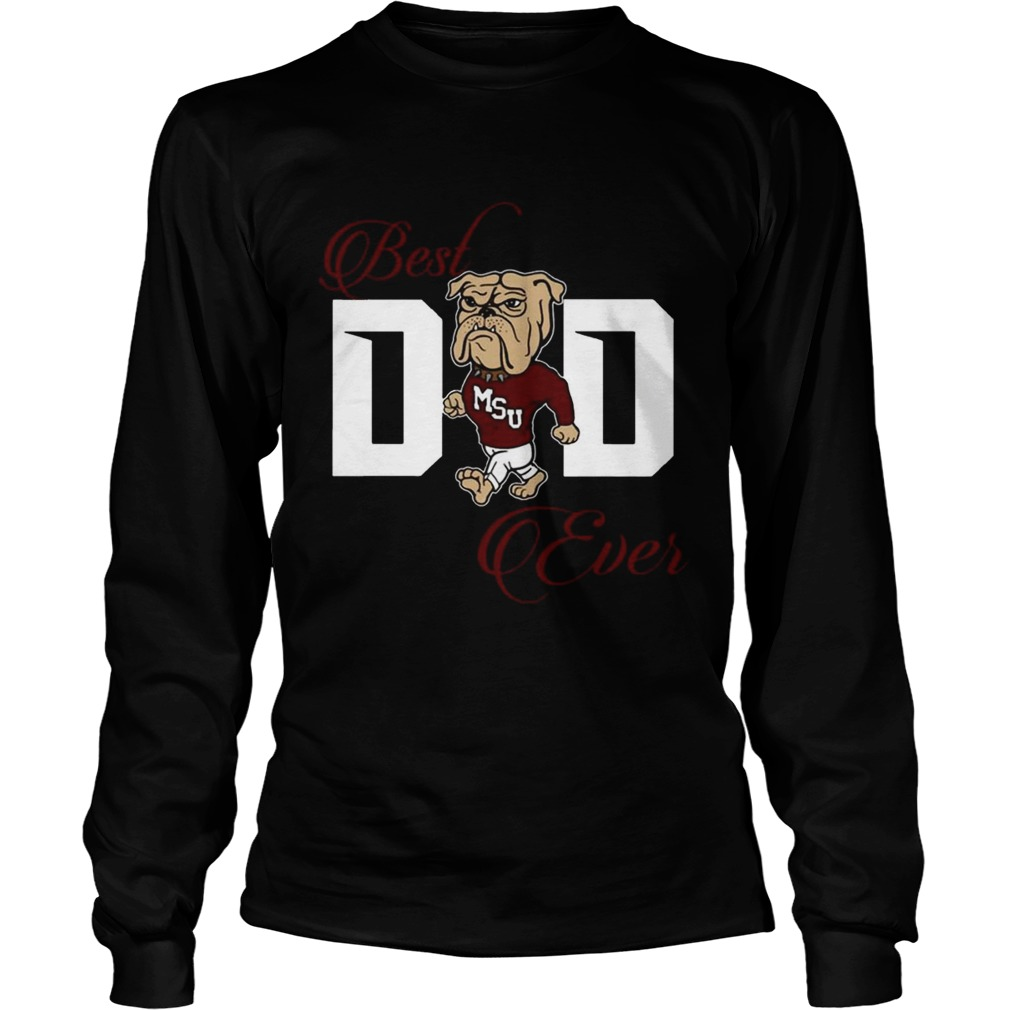 fe83807a Best Mississippi Bulldogs Dad Ever Football Tshirt - Cheap T shirts ...