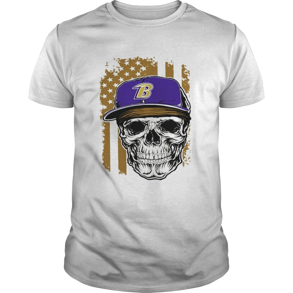 Baltimore Ravens American flag shirt