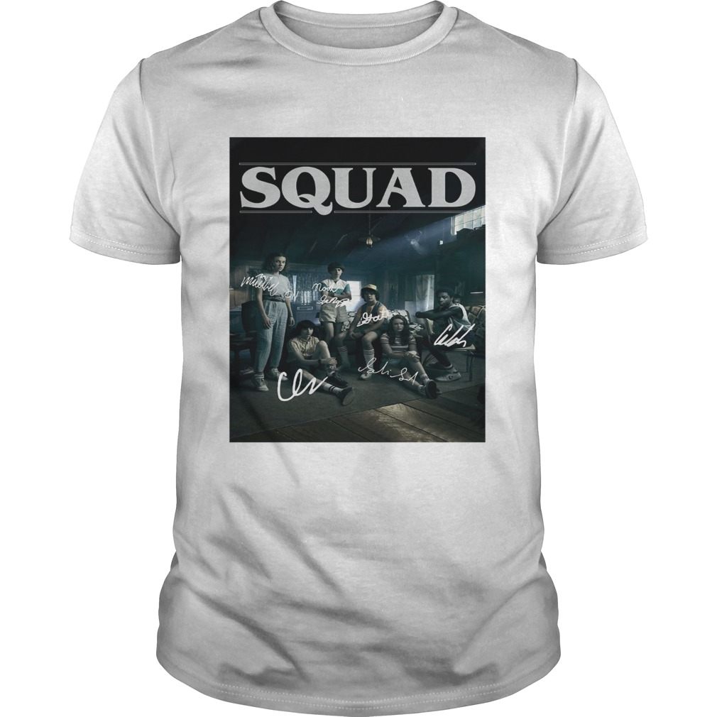 Squad Stranger Things 3 Unisex