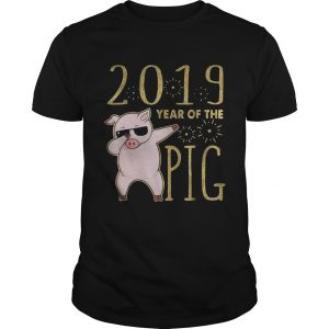 2019 year of the Pig dabbing shirt