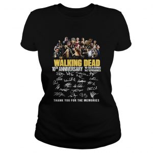 10th Anniversary Walking Dead thank you for the memories  Classic Ladies