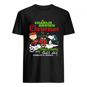 A Charlie Brown Christmas 50th Anniversary 1969-2019 Signature Shirt Classic Men's T-shirt