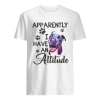 Apparently I have an attitude Pitbull  Classic Men's T-shirt