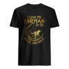 I love my lineman to the moon and back  Classic Men's T-shirt