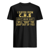 I suffer from CHS can't hear tee  Classic Men's T-shirt
