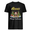 Mickey Mouse drink Dutch Reese's Christmas  Classic Men's T-shirt