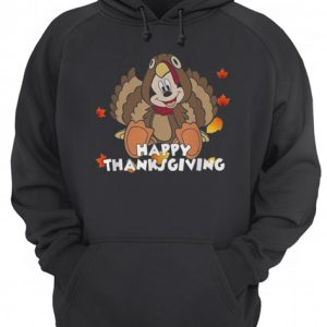 Mickey Mouse happy thanksgiving  Unisex Hoodie
