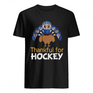Turkey thankful for Hockey  Classic Men's T-shirt