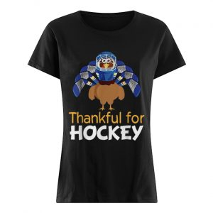 Turkey thankful for Hockey  Classic Women's T-shirt