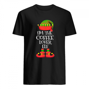 'M THE Coffee Lover ELF Christmas Xmas Elf Group Costume  Classic Men's T-shirt