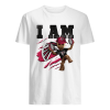 Baby Groot I Am Atlanta Falcons  Classic Men's T-shirt