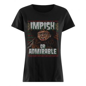 Belsnickel I Am Nigh Impish Or Admirable Cheer Christmas Ugly  Classic Women's T-shirt