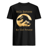 Dinosaur T-rex hello darkness my old friend  Classic Men's T-shirt