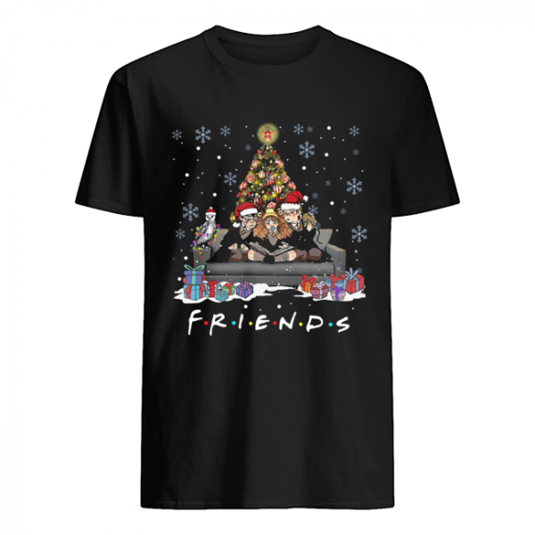 Friends Tv Show Harry Potter christmas tree  Classic Men's T-shirt