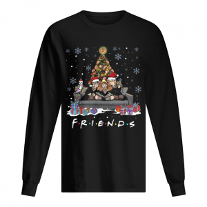Friends Tv Show Harry Potter christmas tree  Long Sleeved T-shirt