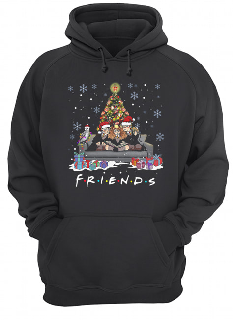 Friends Tv Show Harry Potter christmas tree  Unisex Hoodie