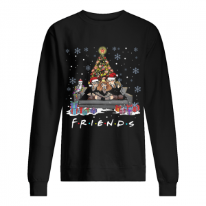 Friends Tv Show Harry Potter christmas tree  Unisex Sweatshirt