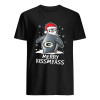 Green Bay Packers Penguin Merry Kissmyass  Classic Men's T-shirt