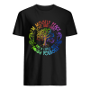 I'm Mostly Peace Love And Light And A Little Go F Yourself  Classic Men's T-shirt