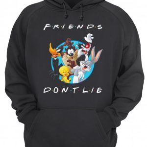 Looney Tunes Friends Don't Lie  Unisex Hoodie