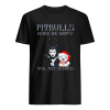 Maleficent pit bulls make me happy you not so much  Classic Men's T-shirt
