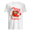 Merry Christmas Snoopy Pittsburgh Penguins  Classic Men's T-shirt