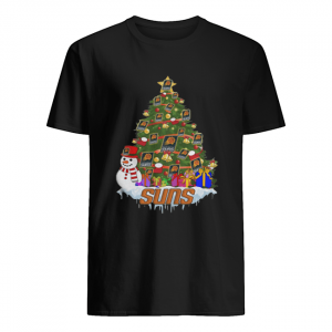NBA Phoenix Suns Basketball Christmas Tree  Classic Men's T-shirt