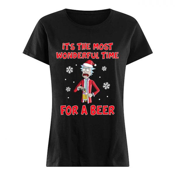 Rick Sanchez It's the most wonderful time for a beer  Classic Women's T-shirt