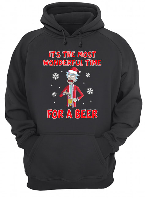 Rick Sanchez It's the most wonderful time for a beer  Unisex Hoodie