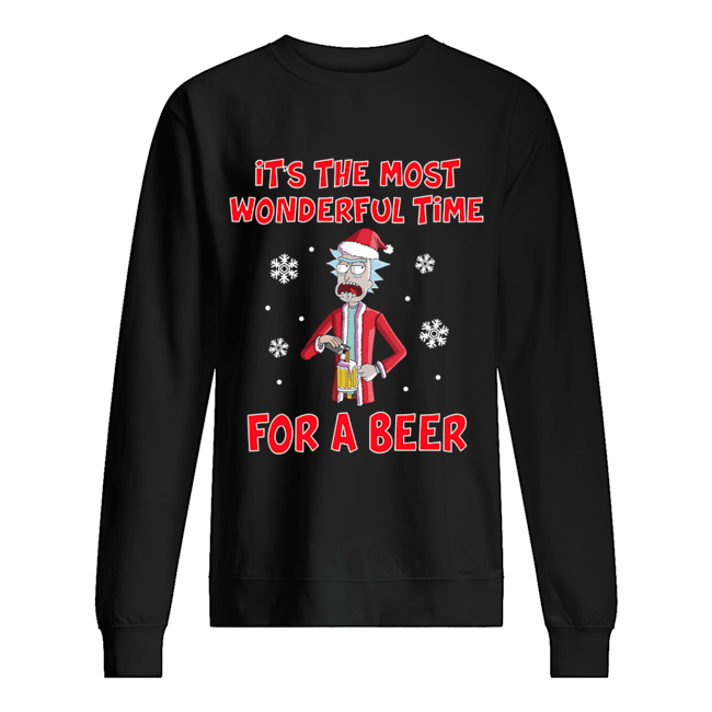 Rick Sanchez It's the most wonderful time for a beer Unisex Sweatshirt