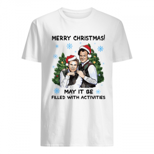 Step Brothers Merry Christmas May It Be Filled With Activities  Classic Men's T-shirt