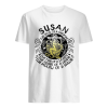 Susan the soul of a mermaid the fire of a lioness  Classic Men's T-shirt