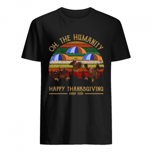 Turkey Oh The Humanity Happy Thanksgiving Wkrp 1978 Shirt Classic Men's T-shirt