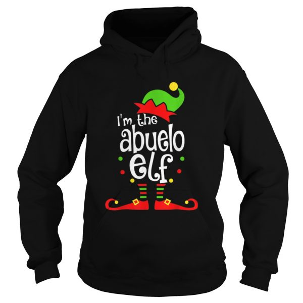 Abuelo Elf Christmas Spanish Grandpa Matching Family Xmas  Hoodie