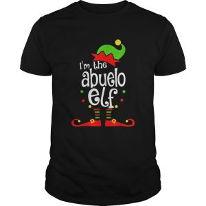 Abuelo Elf Christmas Spanish Grandpa Matching Family Xmas  Unisex