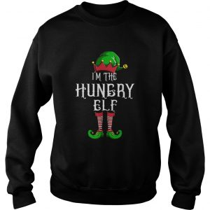 Im The Hungry Elf Matching Family Group Christmas  Sweatshirt