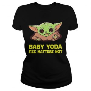 Baby Yoda Size Matters Not  Classic Ladies