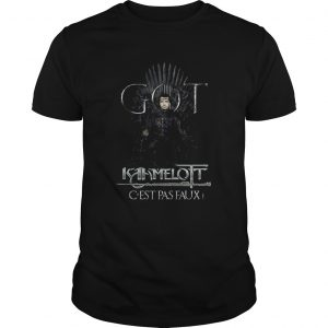 Got Kamelot Cest Pas Faux Iron Throne  Unisex