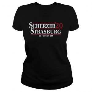 Scherzer 20 Strasburg Go 10 Everyday  Classic Ladies