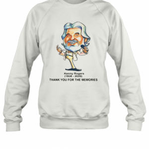 Thank You For The Memories Kenny Rogers T-Shirt Unisex Sweatshirt
