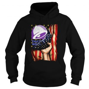 Taco Bell And America Flag  Hoodie