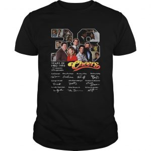 38 Years Of 1982 1993 Cheers Signatures  Unisex