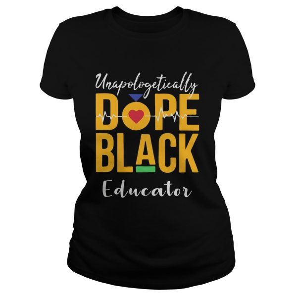 Unapologetically dope black educator heartbeat  Classic Ladies